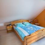 Ferienwohnung Spay - Schlafzimmer mit Doppelbett