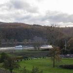 Ferienwohnung Spay - Ausblick Bauernhof & Rhein