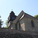 Alte Kirche Spay direkt am Rhein