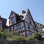 Spay Fachwerkhäuser direkt am Rhein
