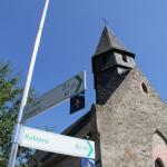 Peterskapelle Spay - Radwege Hinweisschilder